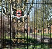 耶稣学院,剑桥,英国 免版税库存图片