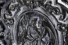 耶稣拘捕  免版税库存图片