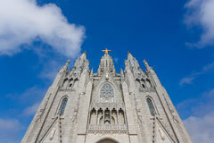 耶稣教会,巴塞罗那的耶稣圣心 免版税图库摄影