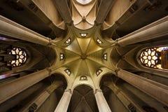 耶稣教会,巴塞罗那的耶稣圣心 库存照片