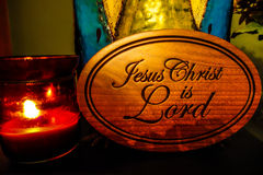 耶稣是阁下 图库摄影