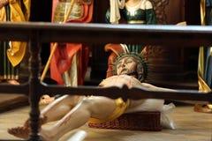 耶稣木图迫害了 免版税库存图片
