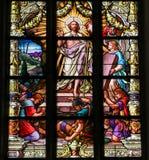 耶稣的复活从坟墓的 库存图片