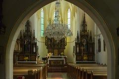 耶稣的神圣的重点的教会 库存照片