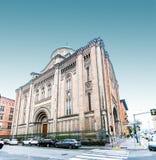 耶稣的耶稣圣心教会在波隆纳,意大利 免版税图库摄影