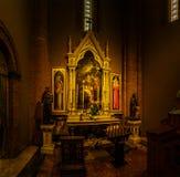 耶稣的耶稣圣心教会在波隆纳,意大利 免版税库存照片