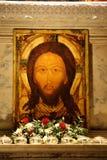 耶稣纵向 免版税图库摄影