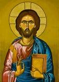 耶稣绘画 图库摄影