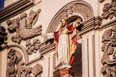 耶稣耶稣圣心在蒙特雷大教堂里 免版税库存照片