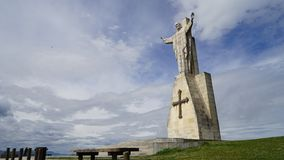 耶稣耶稣圣心纪念碑,西班牙 图库摄影