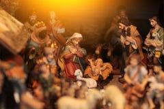 耶稣诞生 库存照片