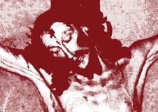 耶稣迫害了 免版税库存照片