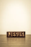 耶稣难题 库存图片