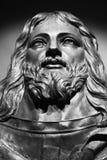 耶稣雕塑 免版税图库摄影