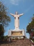 耶稣雕象tau越南vung 库存照片
