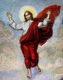 耶稣马赛克 库存图片