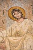耶稣马赛克 免版税库存照片