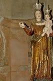 耶稣・玛丽亚雕象 免版税库存图片