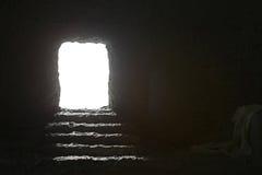 耶稣` s坟茔 免版税库存图片