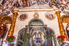 耶稣Atotonilco墨西哥壁画圣所  库存图片