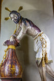 耶稣Atotonilco墨西哥de la Columna耶稣先生圣所  库存照片