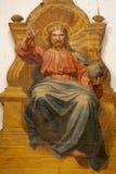 耶稣pantokrator 库存图片