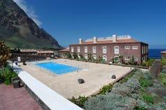 耶罗岛-旅馆在Pozo de la Salud 免版税库存图片