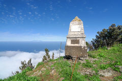 耶罗岛- Monumento Al Serrador将军 库存照片