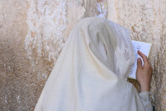 耶路撒冷哭墙 库存照片