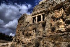 耶路撒冷废墟 免版税库存照片