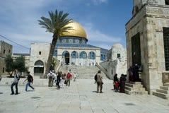 耶路撒冷挂接寺庙 免版税库存照片