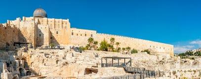 耶路撒冷挂接寺庙 库存图片