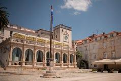 耶路撒冷旧城赫瓦尔岛 免版税库存照片
