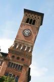 耶路撒冷旧城霍尔钟楼在塔科马华盛顿 免版税库存图片