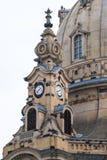耶路撒冷旧城,德累斯顿 王宫的一座古老钟楼 A 库存图片