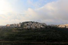 耶路撒冷是以色列的首都 免版税库存照片