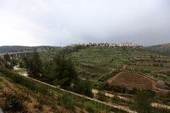 耶路撒冷是以色列的首都 库存照片