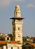 耶路撒冷清真寺 库存照片