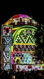 耶路撒冷灯节- Hurva犹太教堂 库存图片
