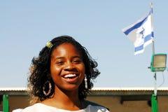 耶路撒冷的非洲西伯来以色列人 免版税库存图片