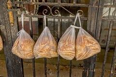 从耶路撒冷的面包 免版税库存图片