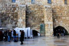 耶路撒冷的颜色在以色列 免版税库存照片