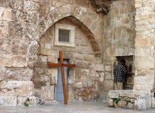 耶路撒冷祈祷 免版税库存照片