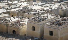耶路撒冷老坟茔 免版税库存照片