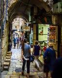 耶路撒冷老城镇 图库摄影