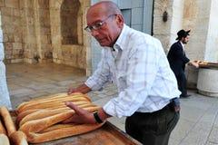 耶路撒冷老市市场 免版税库存照片