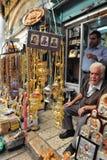 耶路撒冷老市市场 免版税图库摄影