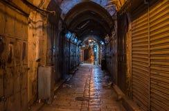 耶路撒冷老市市场 图库摄影