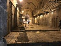 耶路撒冷老市穆斯林处所 图库摄影