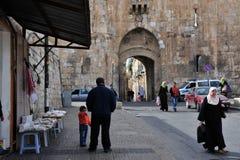 耶路撒冷老市 免版税库存图片
